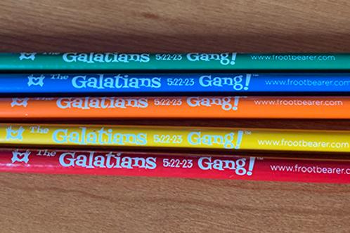 Galatians 5:22-23 Gang!™ Pencils