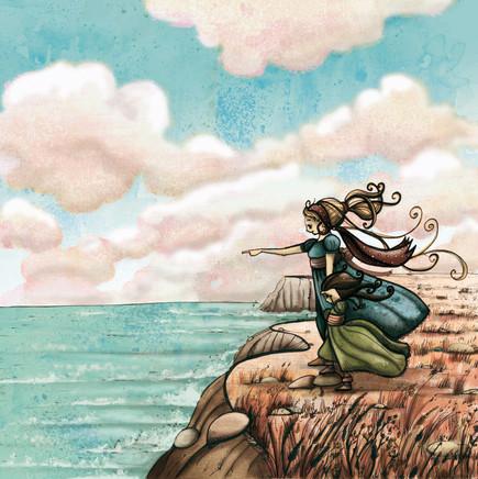 """Carte postale """"La Princesse Palatine""""_ 4"""