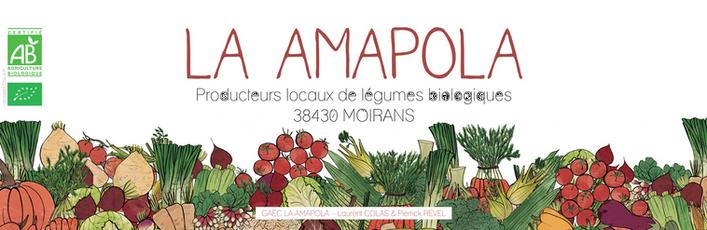 Bannière pour le GAEC LA AMAPOLA  à Moirans