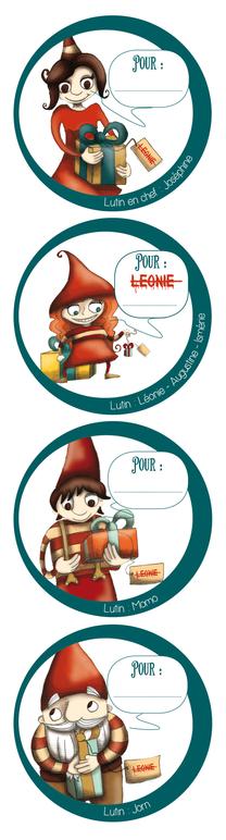 Stickers - La Machine à cadeaux