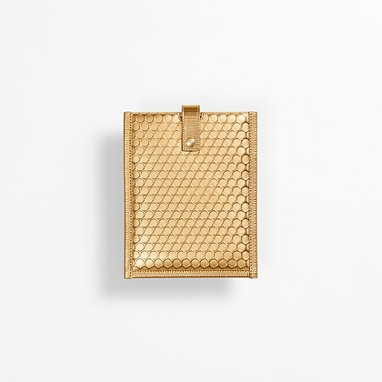 Bubblewrap Sleeve Liten, Gold.