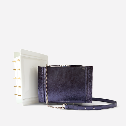 Night Crawler Crossbody Bag, in Ocean Vulcano.