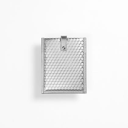 Bubblewrap Sleeve Liten, Silver.