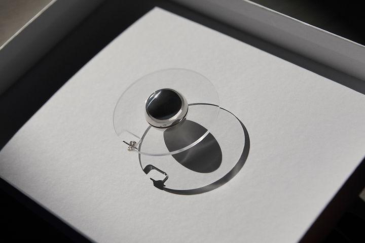 C1 Silver Large Saturnus  Charlott Vasbe