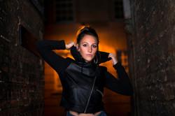 Alleyway Lighting Portrait