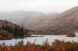 Trossachs National Park in Scotland