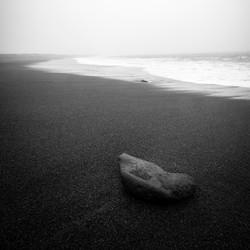Black Beach in Iceland