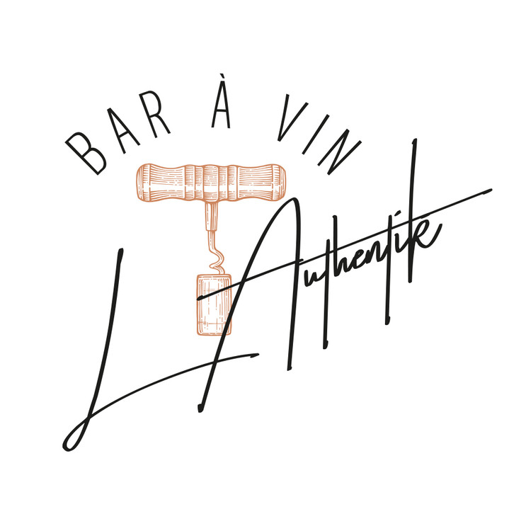 Bar à vin logotype