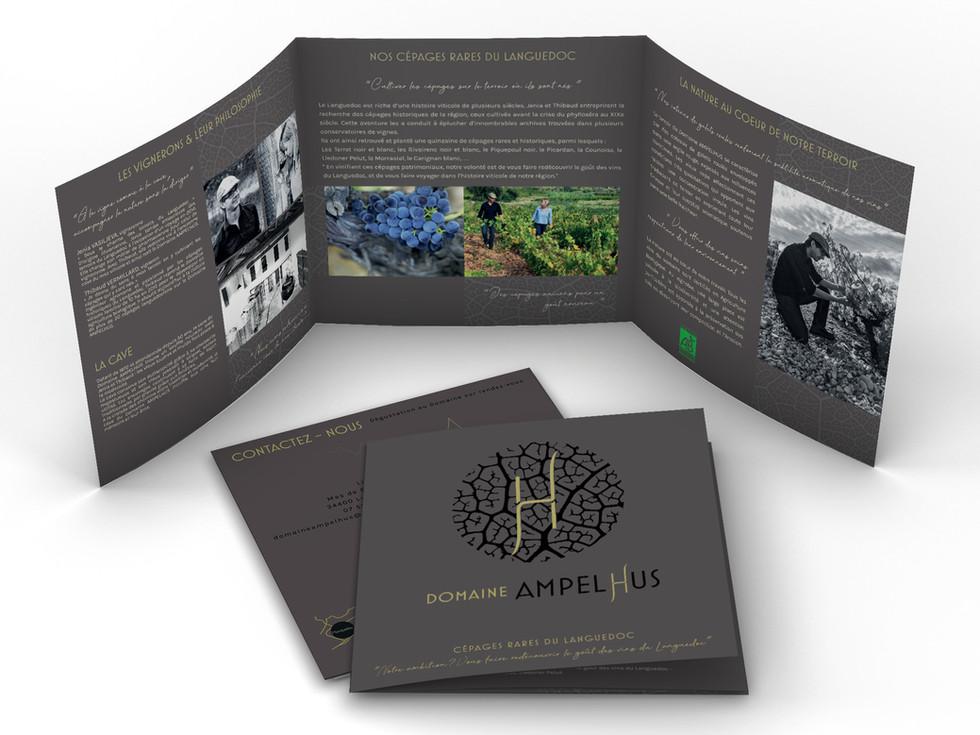 Domaine AMPELHUS brochure