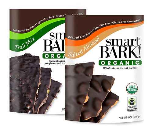 Assorted 2 Pack of smartBARK!  Pick your own flavors.