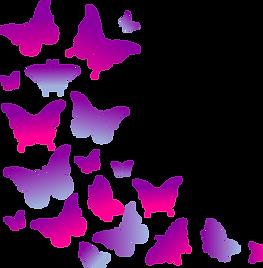 Purple Flying Butterflies.png