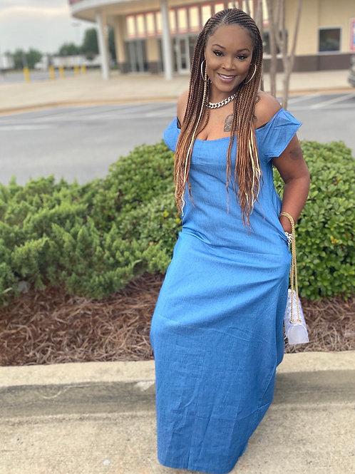 Ideal jean dress