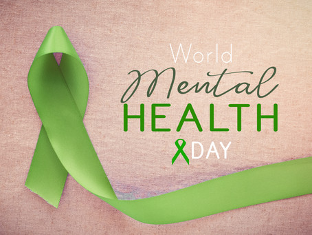Today is World Mental Health Day!