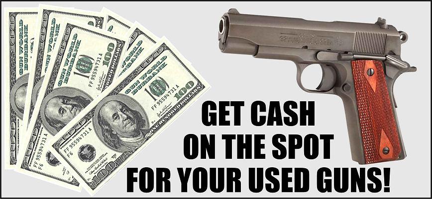Cash for used guns!