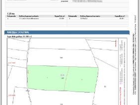 Nueva certificación descriptiva y gráfica de parcelas