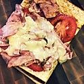 1/2 Hot Ham & Cheese