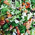 Small Greek Salad Pizza