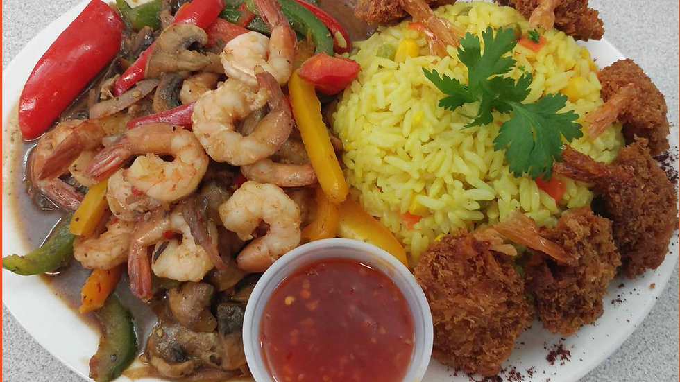 Mix Shrimp Plate