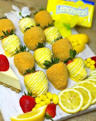 Strawberry-Lemonade Very Berry Cheesecake Surprise