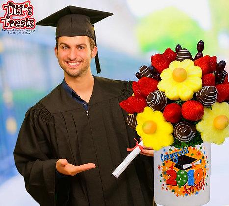 """""""Congrats Grad"""" Bouquet"""