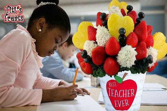"""Best Teacher Ever"" Bouquet with Coconut"
