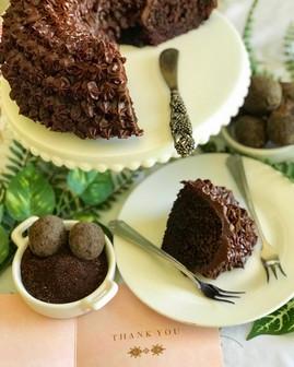 Choko-Choko-La-La Chocolate Cake