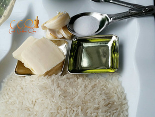 White Rice.... simple, yet so delicious. Buttery, fragrant and if prepared correctly you'll eat