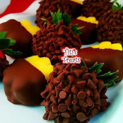 Dipped Pineapple & Morsel Berries