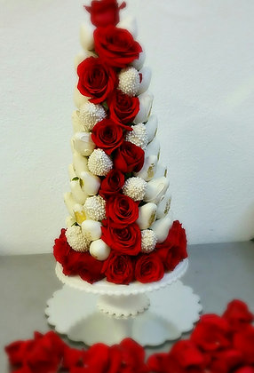 """Berry-licious Strawberry Tower""4 size starting at"