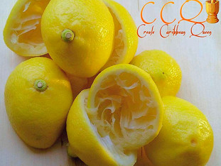 """Try my refreshing CCQ """"Ginger Lemonade""""... ginger is used in many Haitian drinks and treat"""