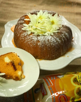 Ji Grenadia Guava and Cheese Bundt Cake