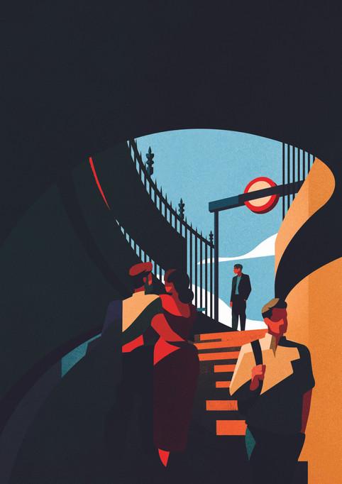 Underground Steps