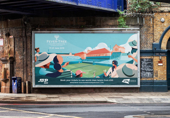 Fever Tree Championships Campaign Poster