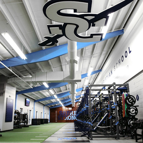 Southside Christian School - Weight Room