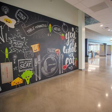 Drayton Elementary School - Cafeteria
