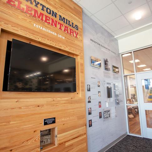 Drayton Elementary School - History Wall