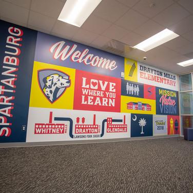 Drayton Elementary School - Student Enterance
