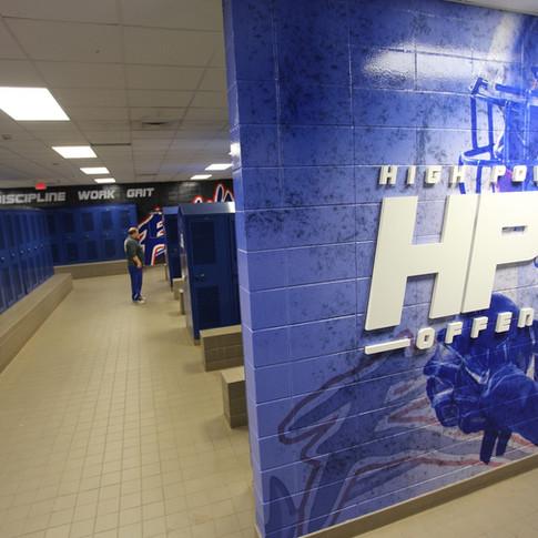 Byrnes High School - Locker Room