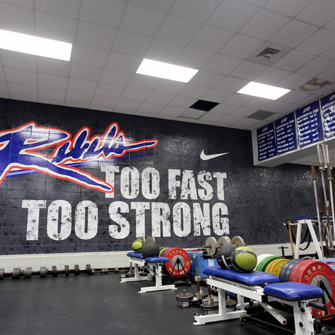 Byrnes High School - Weight Room