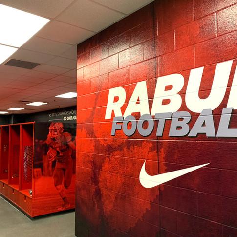 Rabun County Football Locker Room