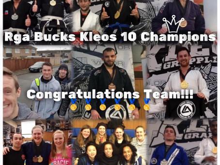 RGA Bucks Wins Kleos 10