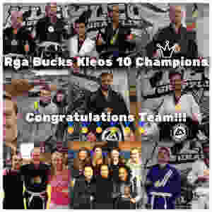 RGA Bucks Kleos 10 Winners