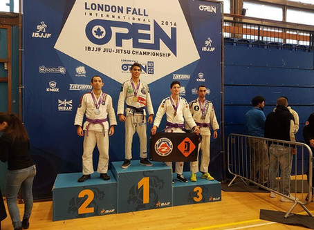 Day one of the IBJJF London fall open