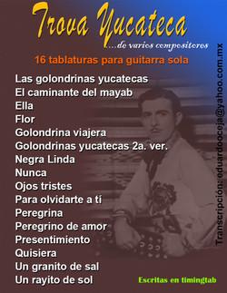 16   TROVA YUCATECA