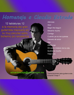 LA GUITARRA DE CLAUDIO ESTRADA