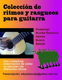 COLECCION DE RITMOS Y RASGUEOS No