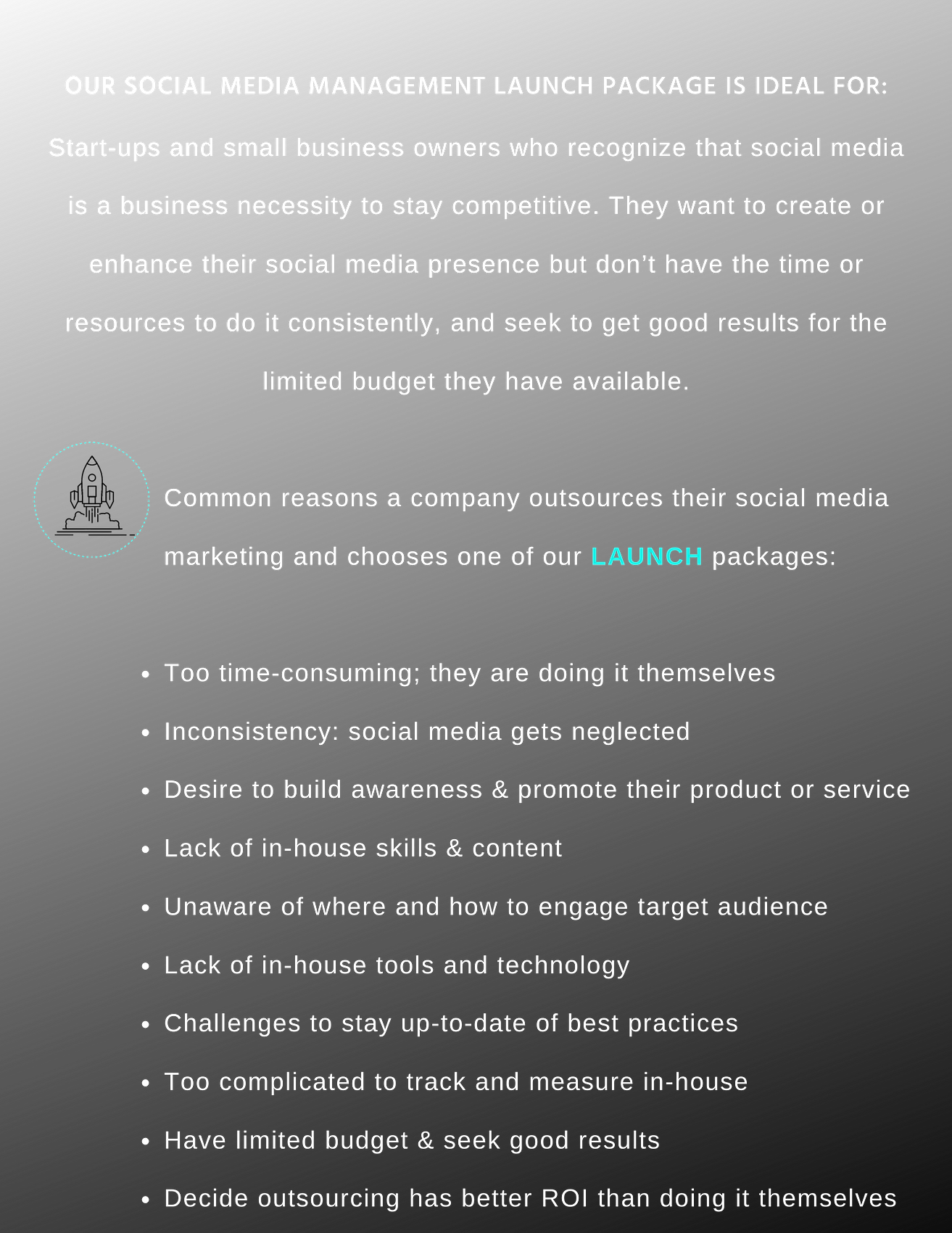 Fortitude_ Social Media-Launch Packages