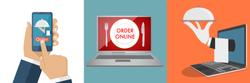 Online Order Banner