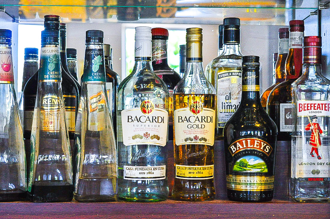 Bar - Alcohol Selection