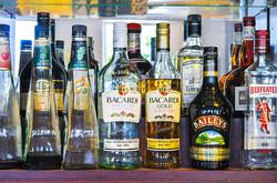 Bar - Alcohol Selection